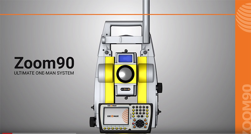 GeoMax Zoom90 Video