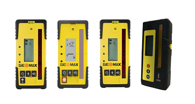 GeoMax Laser receivers