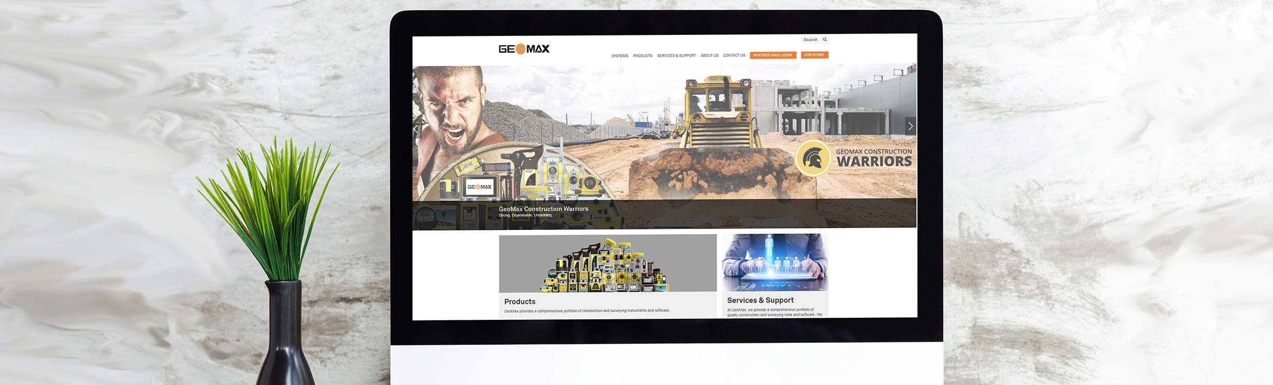 GeoMax new website