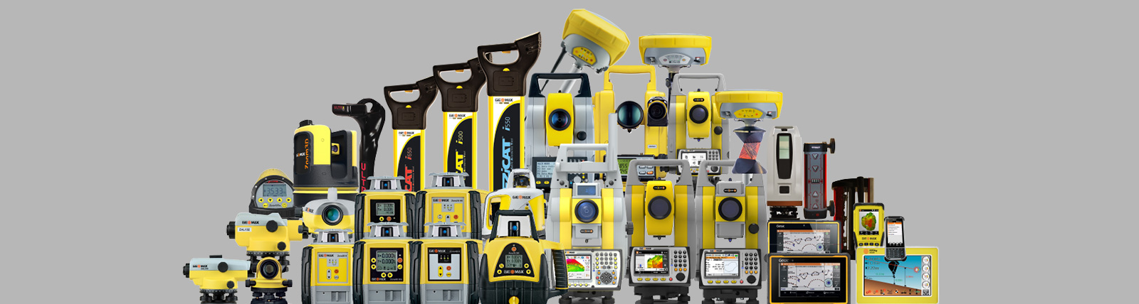 GeoMax Product Family