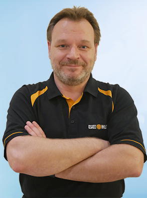 GeoMax Management Team Dirk Eberle